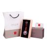 Đồng hồ nữ dây da chính hãng Julius Star Hàn Quốc JS-017D Nâu