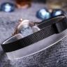 Đồng hồ nữ dây kim loại chính hãng Julius Hàn Quốc JA-1241D Đen