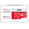 Thẻ nhớ 32Gb Pro JVJ Class 10 Dùng cho tất cả các dòng thiết bị hỗ trợ thẻ nhớ micro, camera giám sát