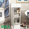 Kệ nhà tắm ngăn kéo kẻ ngang (chống nước) ig454