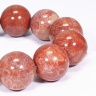 Vòng tay đá san hô hóa thạch size hạt 20mm mênh hỏa, thổ - Ngọc Quý Gemstones