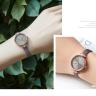 Đồng hồ nữ dây da chính hãng Julius Hàn Quốc JA-1204B Xám