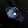 Đồng hồ nam Hàn Quốc Julius chính hãng JAH-112A (xanh dương)
