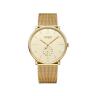 Đồng hồ nữ dây kim loại mặt kính saphire chính hãng Julius Star Hàn Quốc JS-043B Vàng