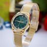 Đồng hồ nữ dây kim loại chính hãng JULIUS Hàn Quốc JA-1040A (Vàng)