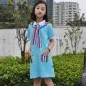 Đầm thun bé gái