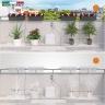 Bộ tưới cây nhỏ giọt tự động sạc pin bằng năng lượng mặt trời dùng cho 20 chậu cây Aqua Magic System Claber 8063