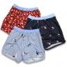Combo 3 quần đi biển nam quần đùi mặc nhà cotton thoái mái vận động qdn05