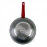 Chảo xào chống dính vân đá bạc đáy từ 28cm KG655M