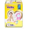 (Tặng 1 gối tròn trái dâu) Combo 2 gói Tã dán trẻ em Unidry size S48- size M42 - size L38