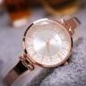 Đồng hồ nữ Hàn Quốc JULIUS JA-1228 dây dạng lắc tay mặt đính hạt lạ mắt