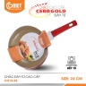 Chảo chống dính đáy từ Ceramic an toàn cán đen 24cm CH15-24