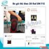 Nẹp chân nhựa poly propylene United Medicare (D07), size L