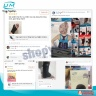 Nẹp chân nhựa poly propylene United Medicare (D07), size XL