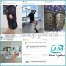 Nẹp chân nhựa poly propylene United Medicare (D07), size S