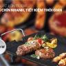 (Tặng kèm Cốc cách nhiệt 2 lớp Biozone KB-CU310PGT màu xanh trà) Bếp nướng điện Happy Time HTD4606