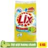 Bột giặt Lix Extra hương chanh 6Kg - Tẩy sạch vết bẩn cực mạnh - EC006