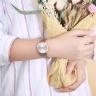Đồng hồ nữ Julius Hàn Quốc Ja-1200LA dây da ( xám)
