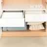 Tủ quần áo gỗ 2 màu MOHO VIENNA 201
