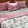 Chăn chần bông Sa Maison, mã Pink Flower, kích thước 200x220cm