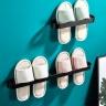 Combo giá để giày dép dán tường hàng cao cấp inox sơn tĩnh điện 5 lớp