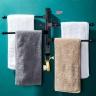Giá treo khăn phòng tắm hàng cao cấp inox sơn tĩnh điện