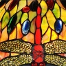 Đèn bàn trang trí Tiffany chao 30 chân đồng