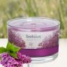 Ly nến thơm tinh dầu Bolsius Lilac Blossom 155g QT024875 - hoa tử đinh hương