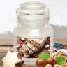 Hũ nến thơm tinh dầu Bartek Christmas Cake 130g QT06651 - hương bánh quế