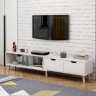 Kệ tivi, kệ tivi để sàn thông minh có thể thay đổi kích thước.