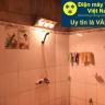 Đèn sưởi nhà tắm 3 bóng treo tường Heizen HE3B