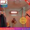 Đèn sưởi nhà tắm hồng ngoại không chói mắt 1000W Heizen HEIT610