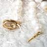 Vòng cổ Ngọc trai Cao cấp Chuỗi đơn Mix mã não - Quà tặng Mẹ - NullanPearl (8-9ly) - CTJ0210N + Tặng bông tai