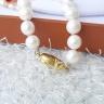 Vòng cổ Ngọc trai Cao cấp - Chuỗi đơn Mix mã não - Quà tặng Mẹ - NullanPearl (8-9ly) - CTJ1010 + Tặng bông tai