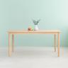 Bàn ăn gỗ sồi MILAN 901 (Màu gỗ tự nhiên)