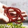 Vòng tay 3 line đá garnet ngọc hồng lựu AAA hạt 5mm mệnh hỏa, thổ - Ngọc Quý Gemstones