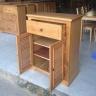 Tủ giầy Victoria 2 cánh lá sách gỗ sồi 1m - IBIE