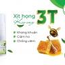 Combo 3 Xịt họng keo ong 3T (25ml) giảm ho, đau họng, ngứa rát họng
