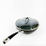 Chảo chiên lòng sâu, phủ kim cương chống dính Tivoli Castor CC65045 (nắp kiếng) - Châu Âu