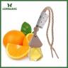 Combo 3 loại tinh dầu treo xe hơi, tủ áo cam hương, sả chanh và bạc hà nguyên chất Lorganic (10mlx3)