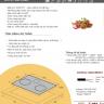 Bếp hỗn hợp điện từ Tomate TOM 03IR 3 vùng nấu- Nội địa Tây Ban Nha