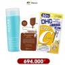 Combo chăm sóc da (sữa rửa mặt, mặt nạ, viên uống bổ sung vitamin C)