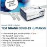 Hộp 25 Bộ Kit Test nhanh Covid-19 HUMASIS Hàn Quốc