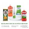 Combo 5 sản phẩm chăm sóc sức khỏe và diệt khuẩn bảo vệ cơ thể khỏi vi khuẩn, virus