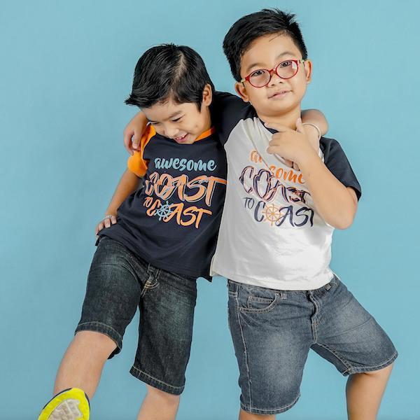 UKID108 – áo thun bé trai (xanh đen)