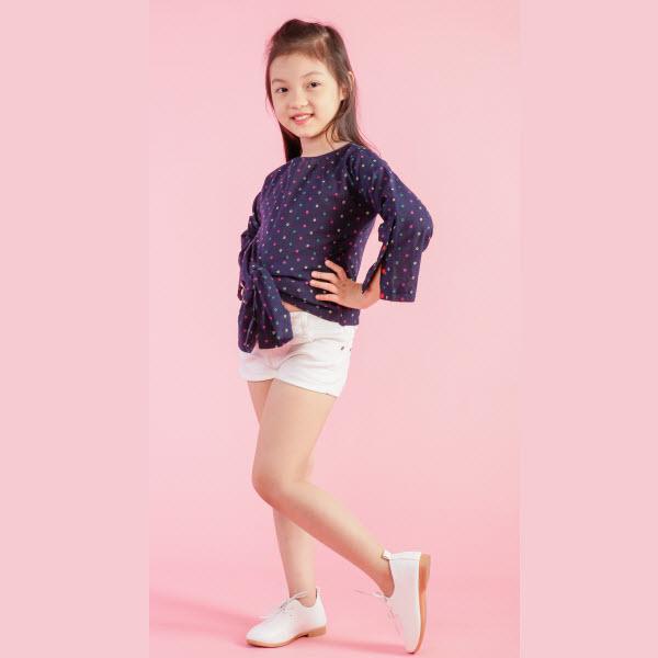 Áo kiểu bé gái UKID152