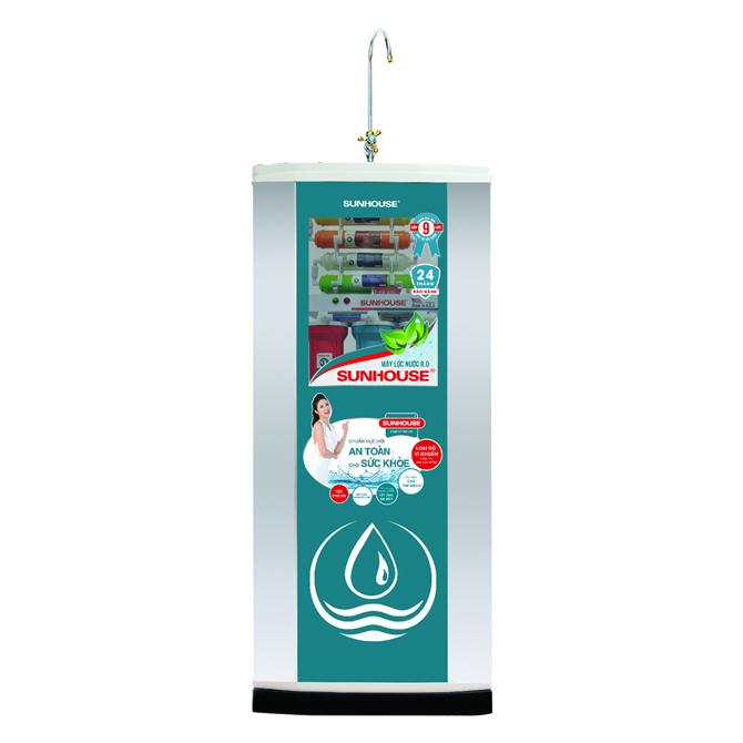 Máy lọc nước R.O 9 lõi lọc SHR8839K