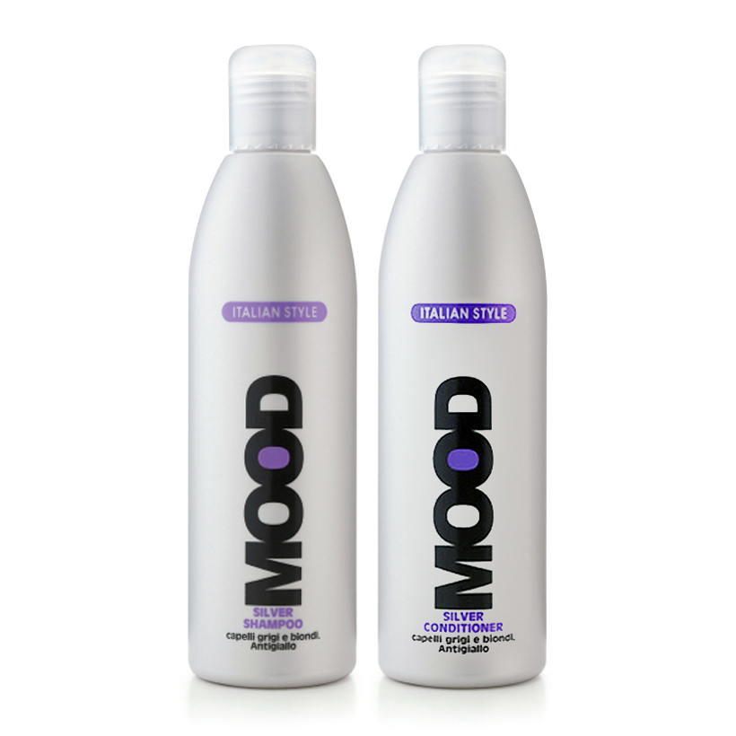 Combo dầu gội xả dành cho tóc nhuộm Silver Mood 300ml/chai