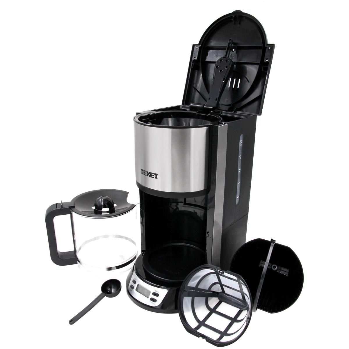 Máy pha cafe Texet CF-250 (Đen)