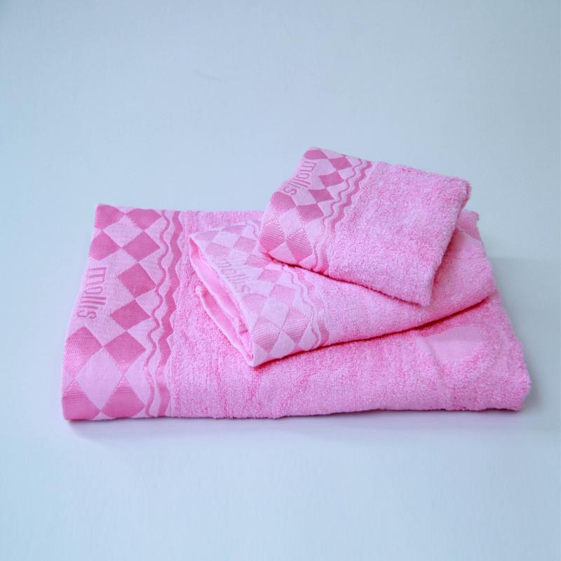 Bộ 3 khăn tắm- khăn mặt- khăn tay Mollis cao cấp Bamboo BM1G-FM1G-HM1G